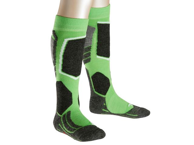 Falke SK2 - Chaussettes Enfant - vert/noir